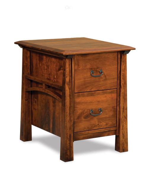 Artesa File Cabinet - Unfinished Back