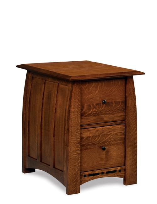 Boulder Creek File Cabinet - Unfinished Back