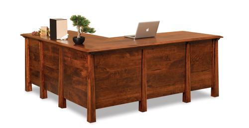Artesa L Desk - Backside