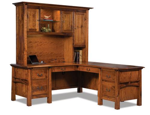 Artesa L Desk with Hutch