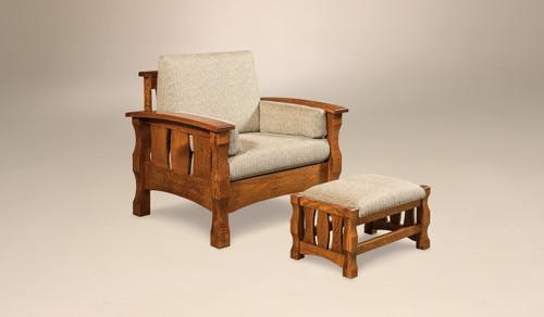 Balboa Chair - shown with Balboa Footstool