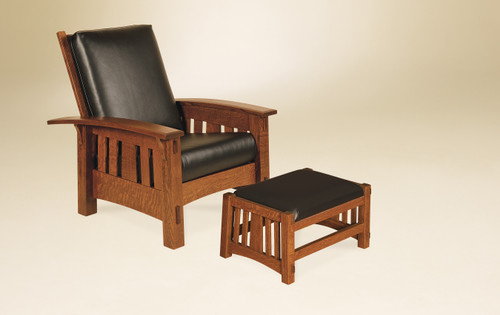 McCoy Morris Chair with Footstool