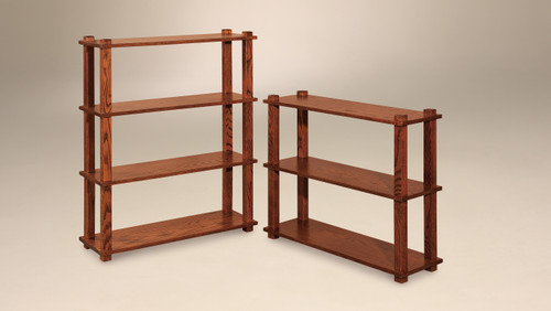 Noble 4 Tier (left) and Noble 3 Tier (right) Stands