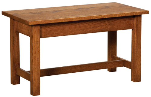 Classic Mission Bed Bench