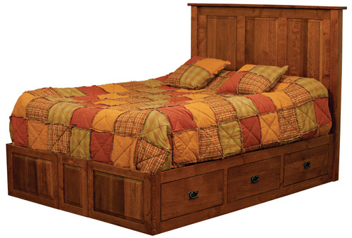 Classic Mission Platform Bed