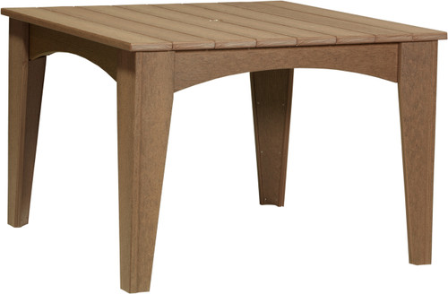 """Island Dining Table 44"""" Square"""