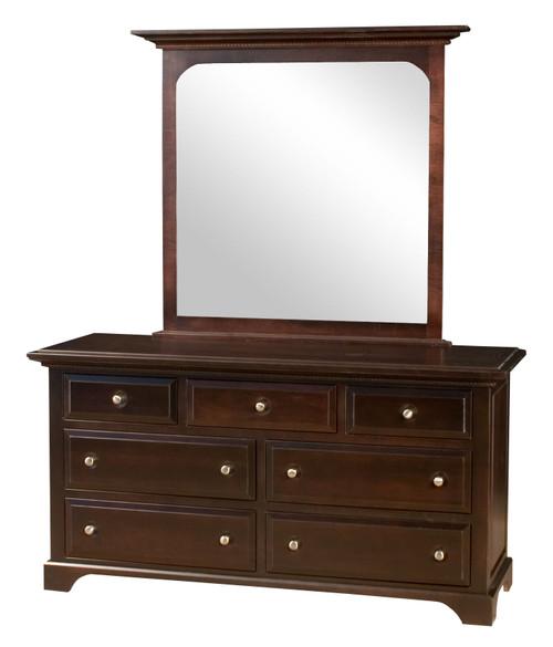 Escalade 7 Drawer Dresser with Mirror