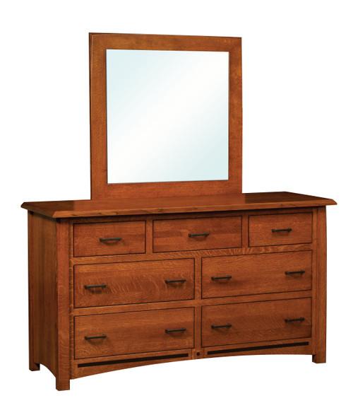Lavega 7 Drawer Dresser and MIrror