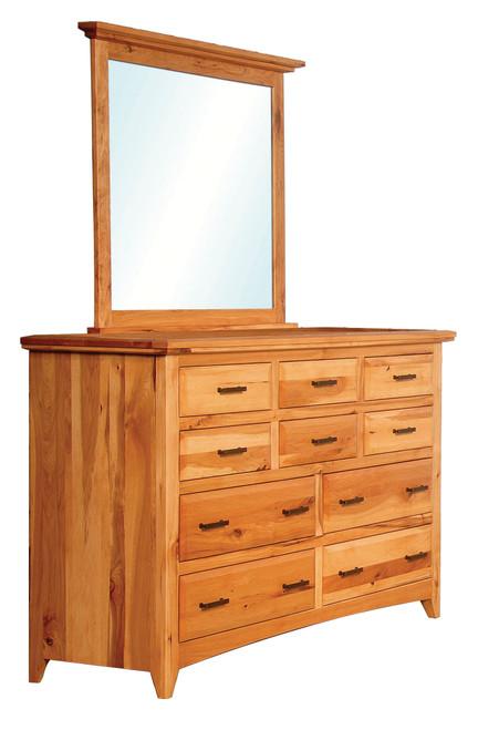 Premier Shaker Dresser with Mirror