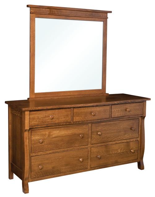 Wellington 7 Drawer Dresser with Mirror