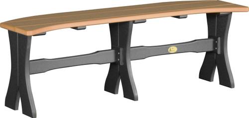 "Cedar & Black 52"" Table Bench"
