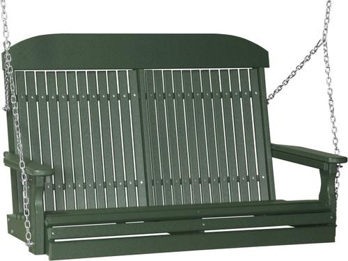 Green 4' Classic Swing