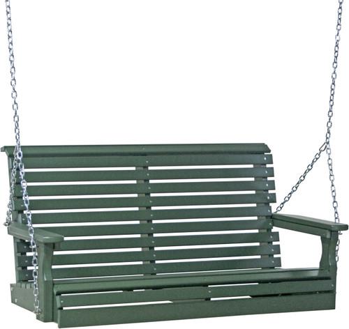 Green 4' Plain Swing