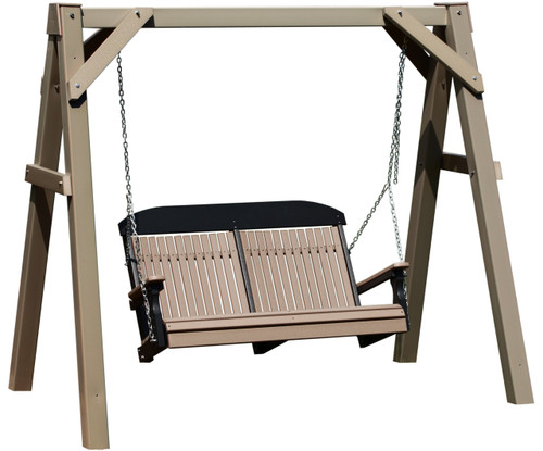 Clay A-Frame Swing Stand