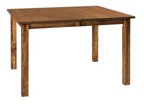 Eco Leg Table - shown in Brown Maple with FC 40592 Earthtone