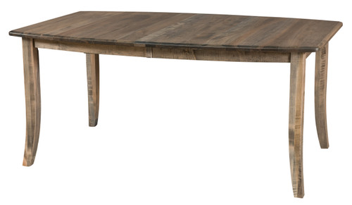 Gallery Leg Table - shown in Brown Maple with Bellaire Finish