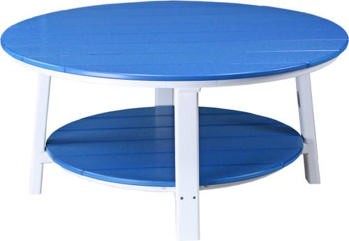 Blue & White Conversation Table