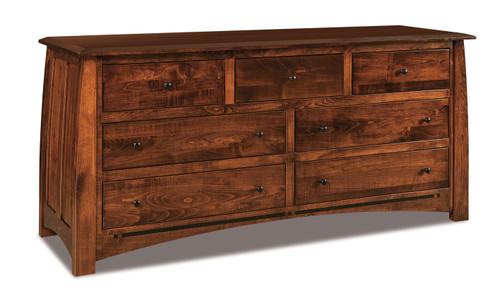 Boulder Creek 7 Drawer Dresser II