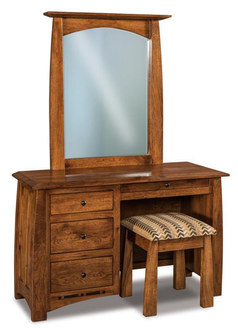 Boulder Creek Vanity Dresser with Bench