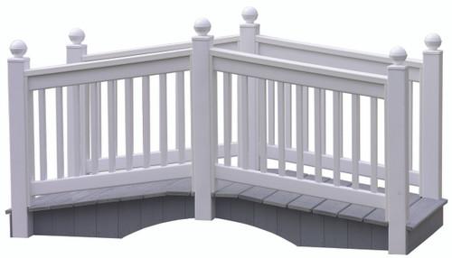 White 8' Vinyl Bridge