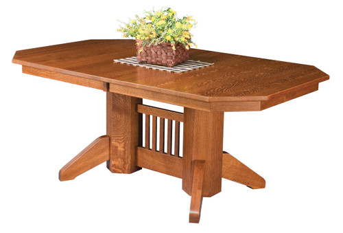 Marbarry Double Pedestal Table