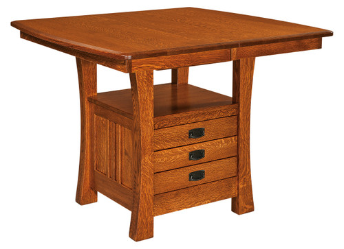 Arts & Crafts Cabinet Table