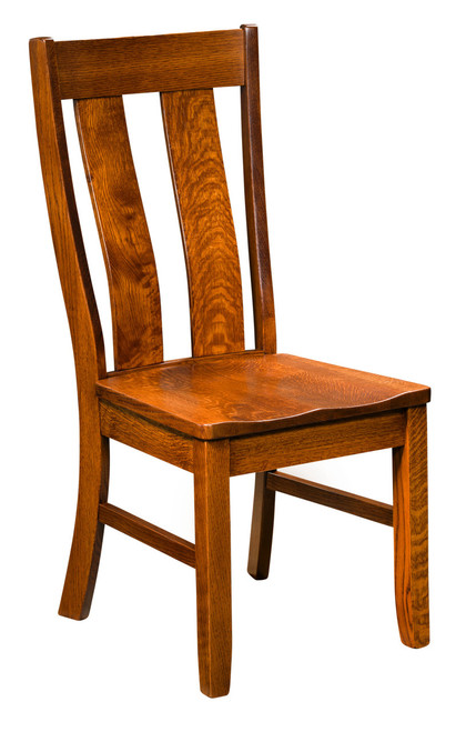 Garrison Side Chair - shown in Quarter Sawn Oak with OCS 113 Michael's Stain