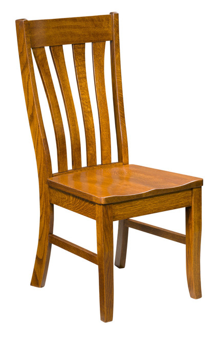 Vista Side Chair - shown in Quarter Sawn Oak with OCS 113 Michael's Stain
