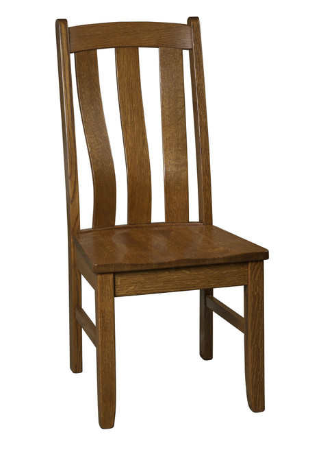 Westbrook Side Chair - shown in Quarter Sawn Oak with OCS 113 Michael's Stain