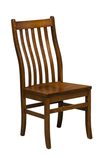 Windfield Side Chair - shown in Quarter Sawn Oak with OCS 113 Michael's Stain