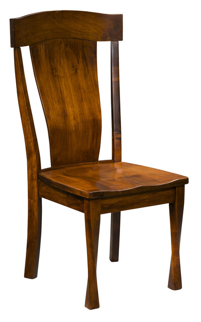 Woodland Side Chair - shown in Brown Maple with OCS 113 Michael's Stain