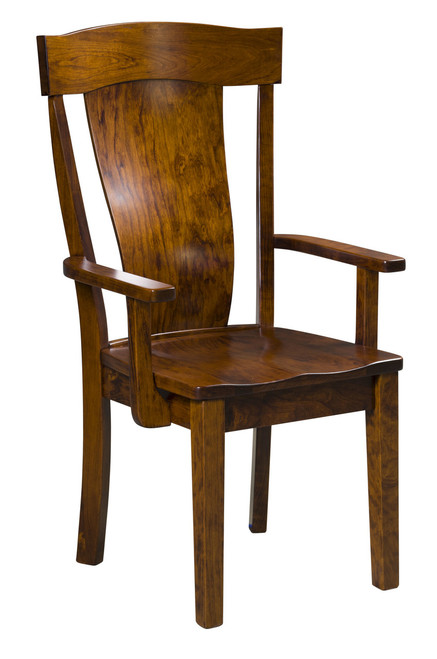 Woodmont Arm Chair - shown in Rustic Cherry with OCS 113 Michael's Stain