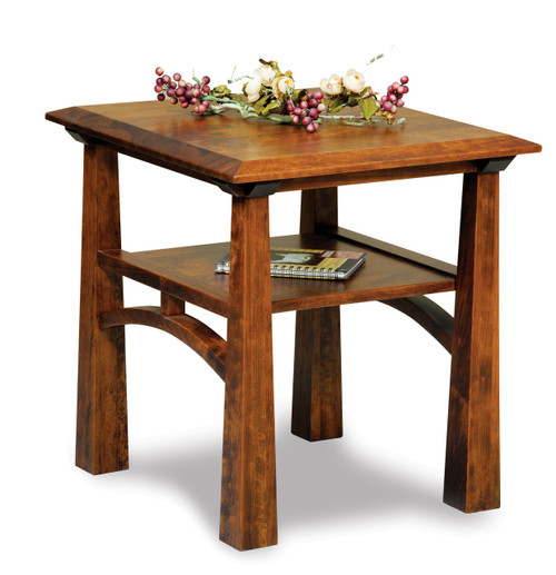 Artesa End Open End Table