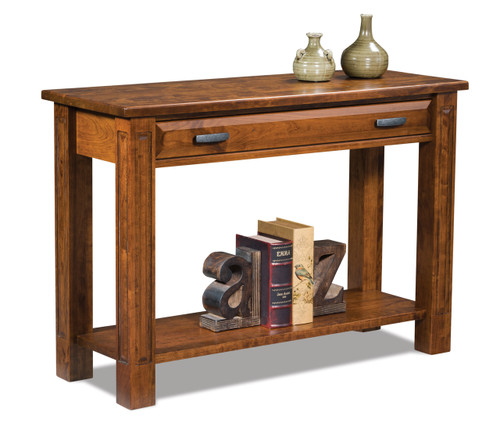 Lexington Open Sofa Table with Drawer