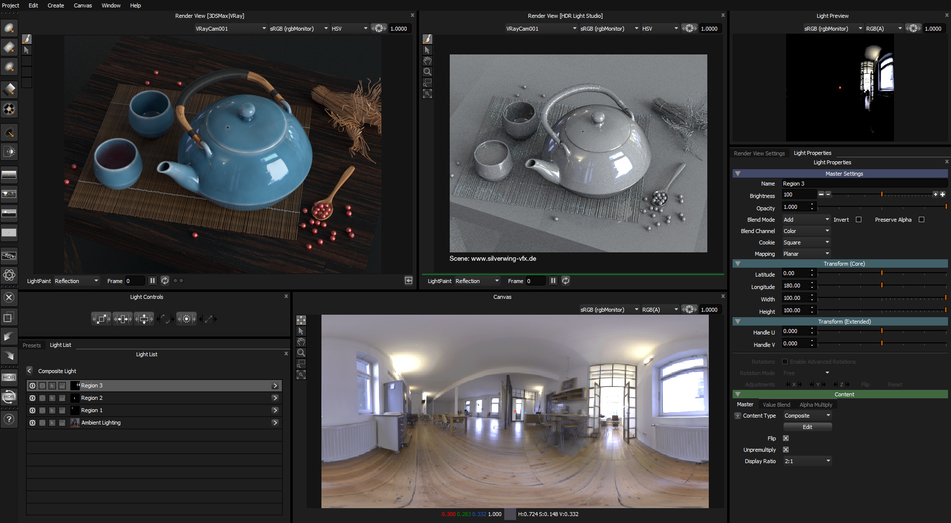 Lightmap HDR Light Studio - Pro - Node Locked / Permanent (includes 1 year of Maintenance) - additional image 1