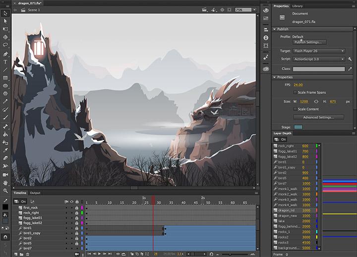 Adobe Animate CC / Flash Professional CC for teams - Annual Subscription - additional image 1