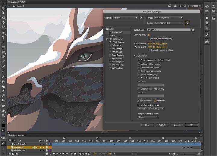 Adobe Animate CC / Flash Professional CC for teams - Annual Subscription - additional image 2