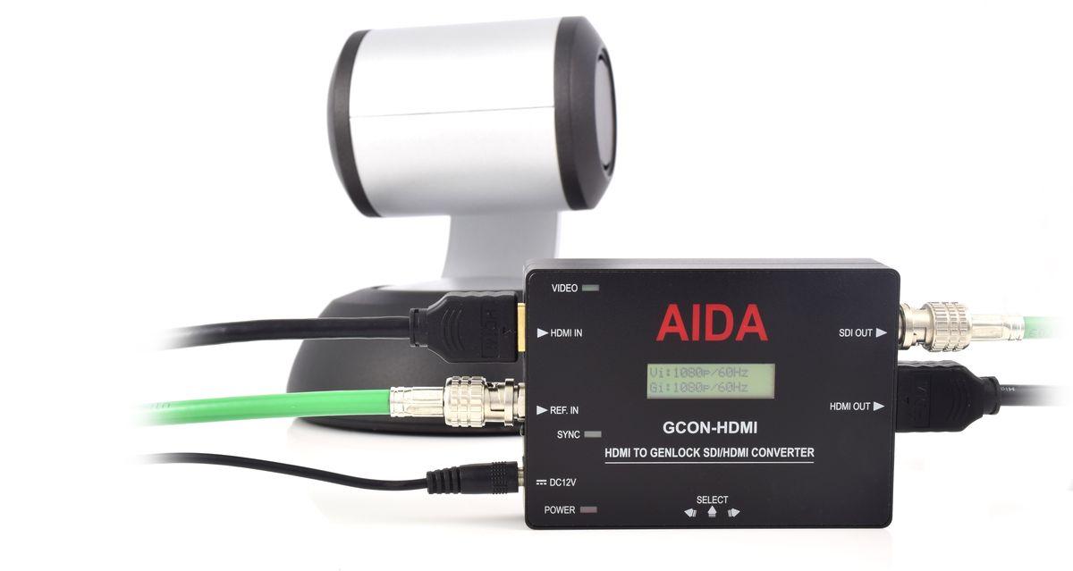 AIDA Imaging GCON-HDMI HDMI to Genlock SDI/HDMI Converter - additional image 1