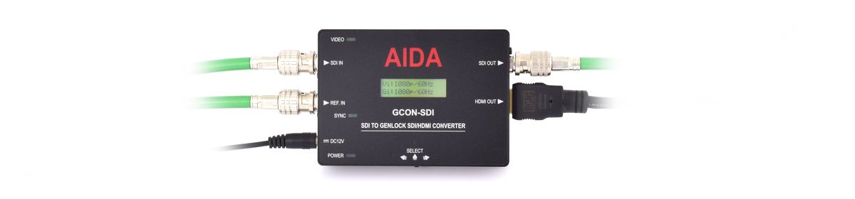 AIDA Imaging GCON-SDI SDI to Genlock SDI/HDMI Converter - additional image 1