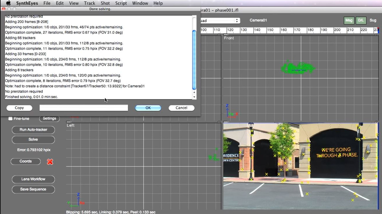 SynthEyes Pro for Mac - additional image 1