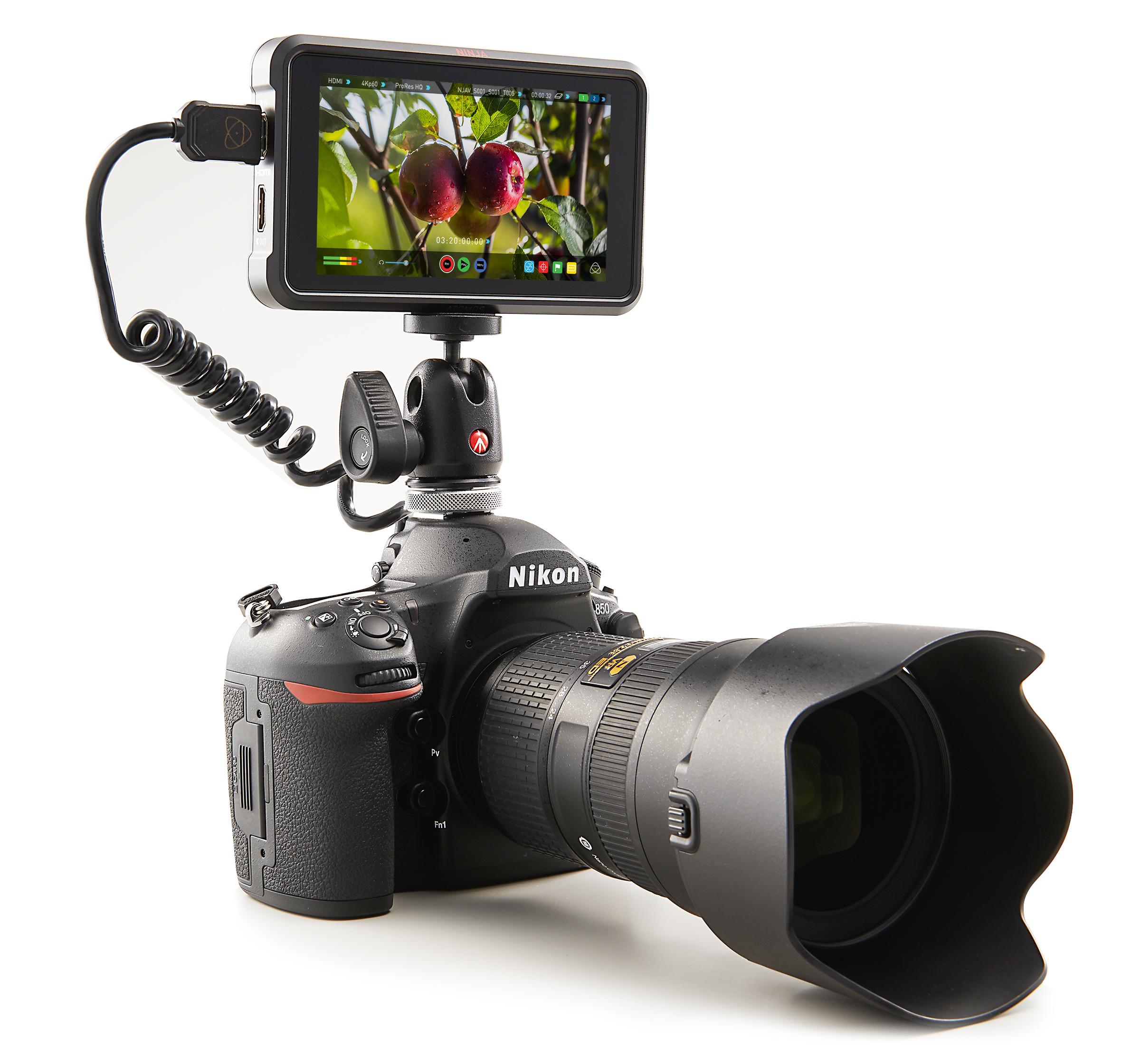 Atomos Ninja V 4Kp60 10bit HDR Daylight Viewable 1000nit Portable Monitor/Recorder - additional image 1
