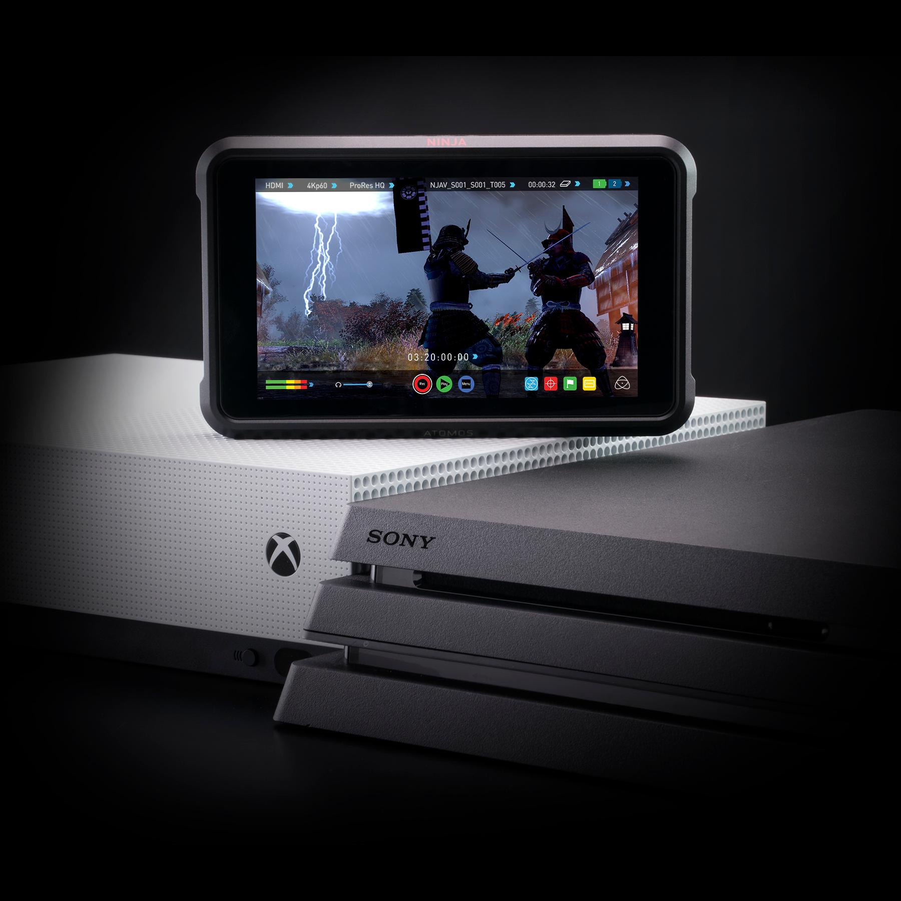 Atomos Ninja V 4Kp60 10bit HDR Daylight Viewable 1000nit Portable Monitor/Recorder - additional image 4