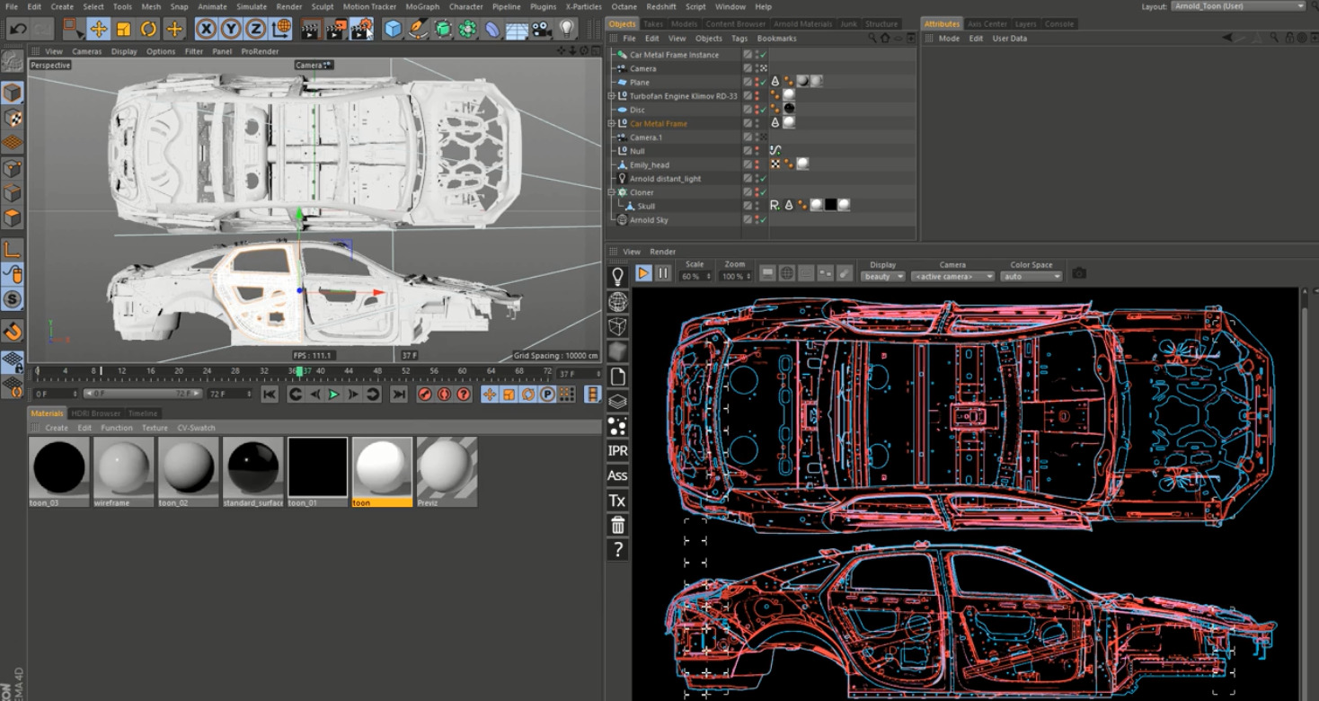 Autodesk Arnold Screenshot