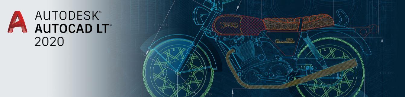 Autodesk AutoCAD LT 2020 Banner