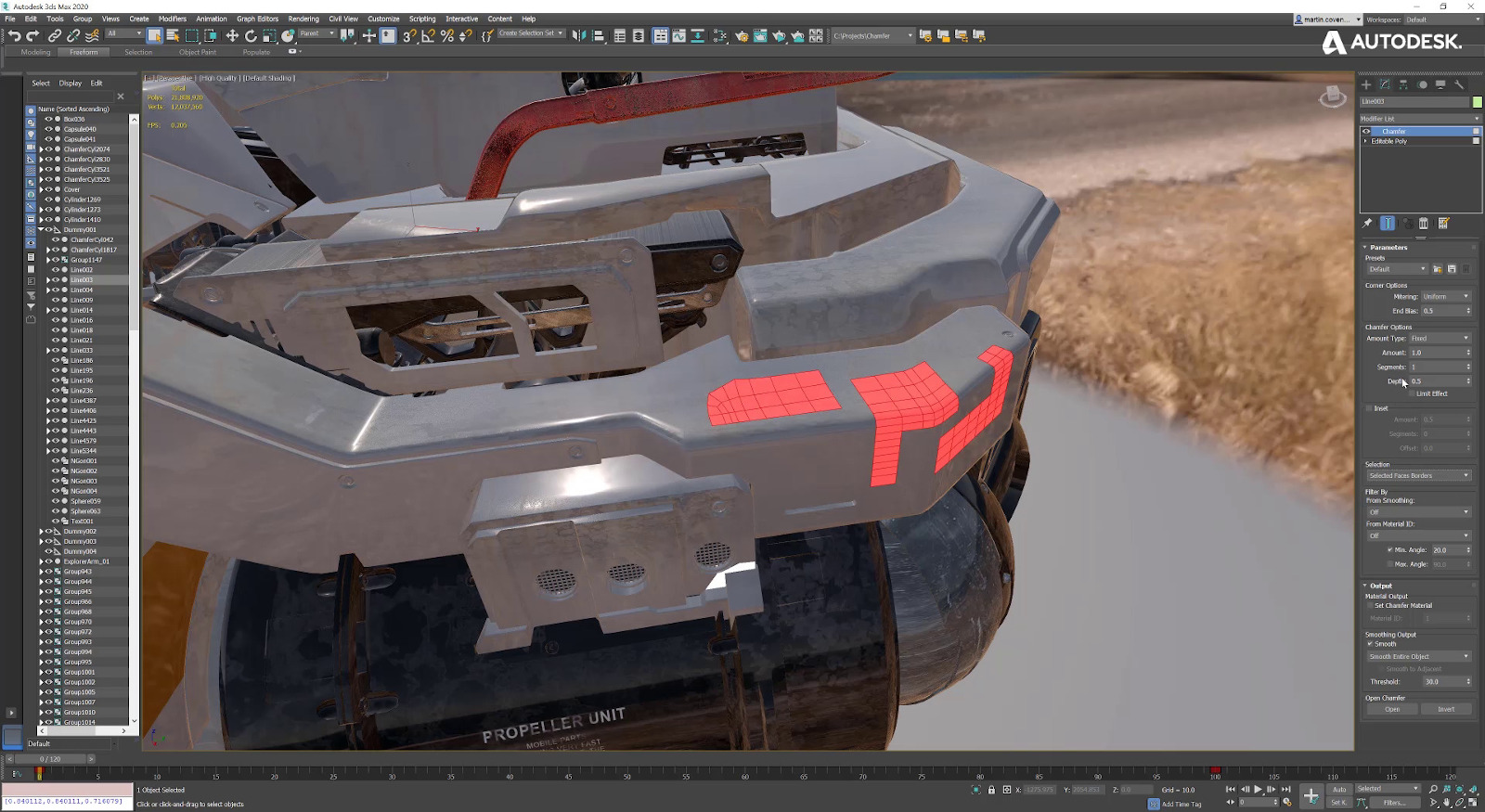 Autodesk 3ds Max 2020 Screnshot