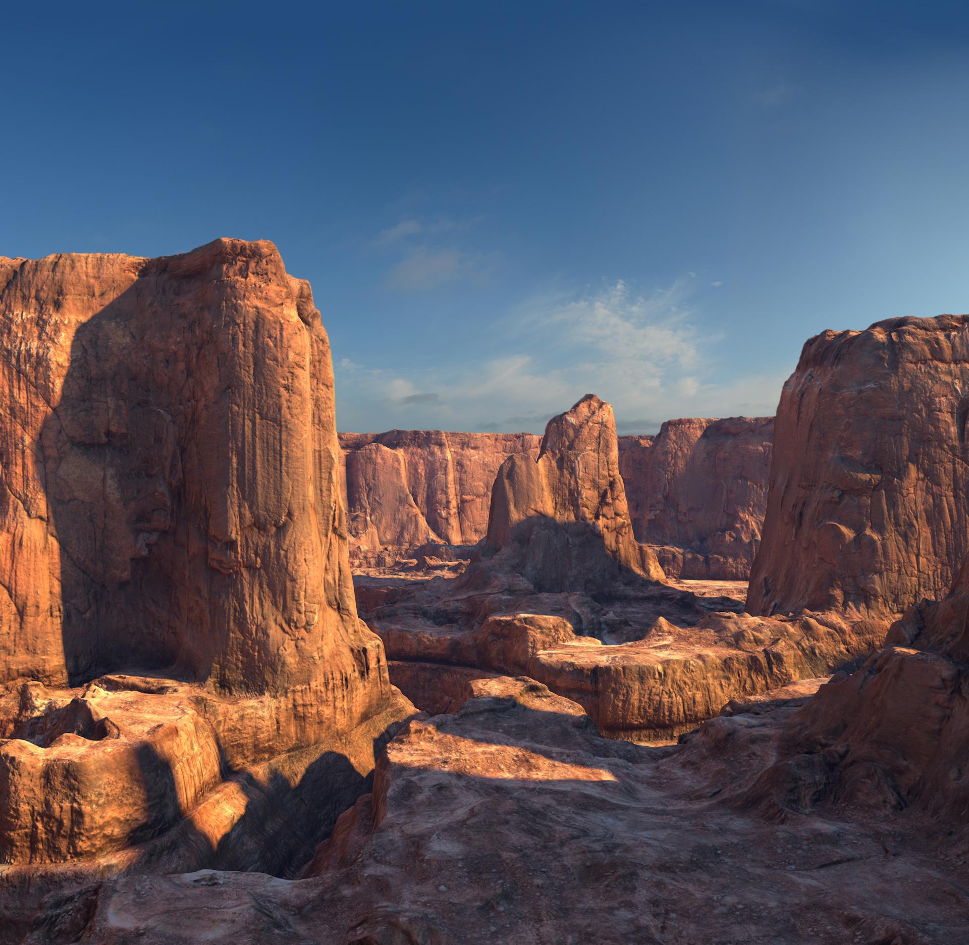 C4Depot Cinema 4D Plugin: Infinite Canyons - additional image 4