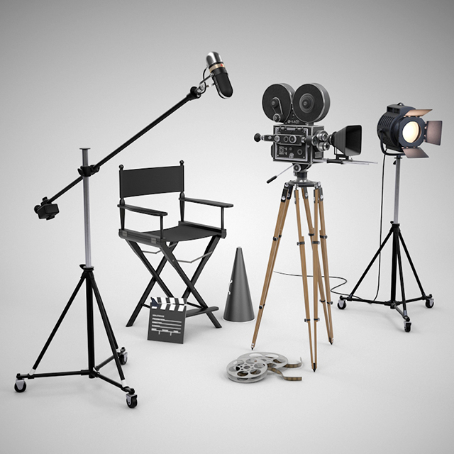 C4Depot 3D Model Collection for Cinema 4D: Movie Director Pack - additional image 1