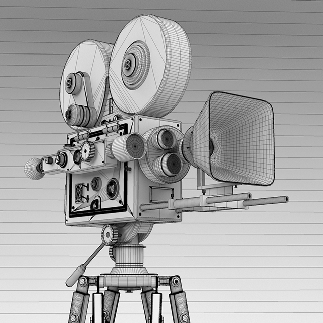 C4Depot 3D Model Collection for Cinema 4D: Movie Director Pack - additional image 4
