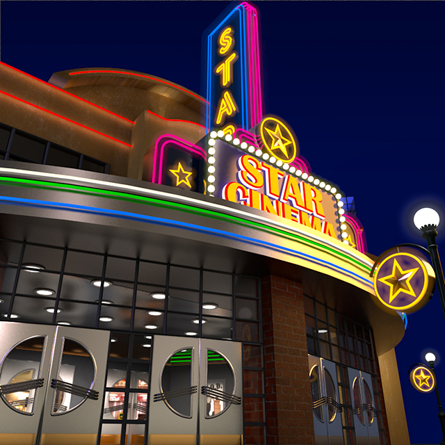 C4Depot 3D Model Collection for Cinema 4D: Hollywood Collection #2 - additional image 2