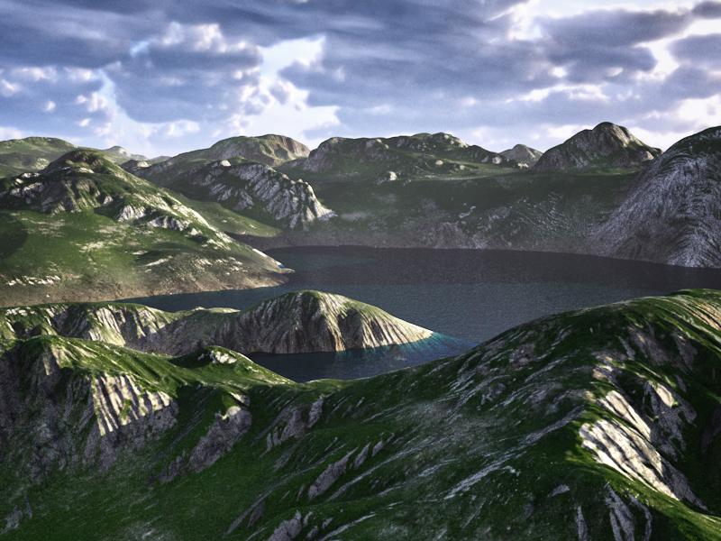 C4Depot Cinema 4D Plugin: Infinite Valleys - additional image 1